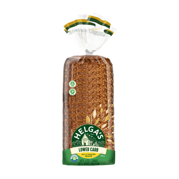Helga's Lower Carb Soy & Toasted Sesame Bread