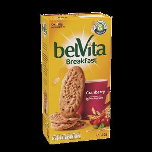 BelVita Breakfast Biscuits – Cranberry