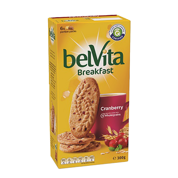 BelVita Breakfast Biscuits – Cranberry