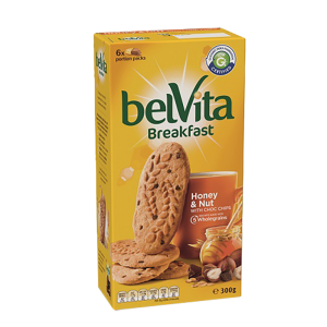 BelVita Breakfast Biscuits – Honey & Nut