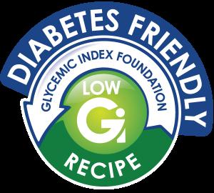 Low Gi Recipe Logo -Diabetes Friendly