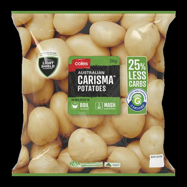 Coles Australian Carisma Potato, Coles brand