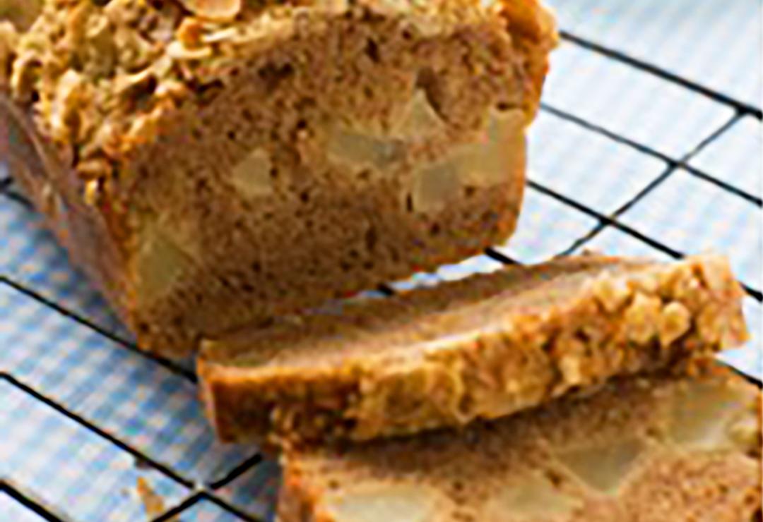 Cinnamon oat & almond loaf
