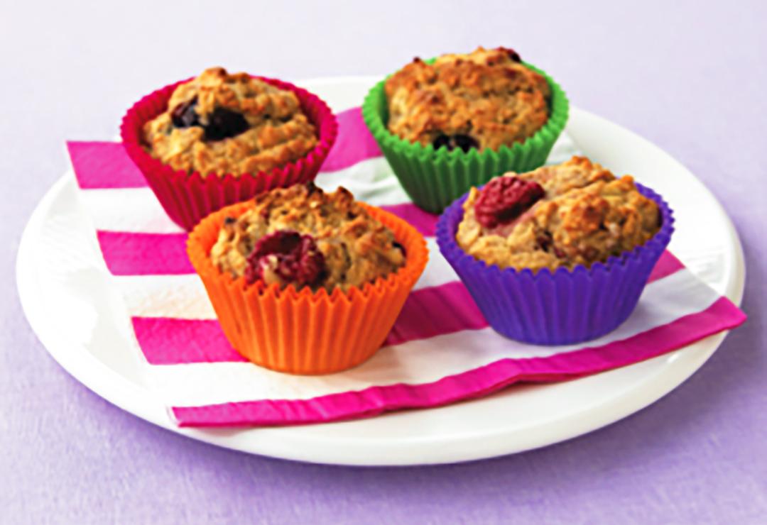 Full-of-fruit muffins