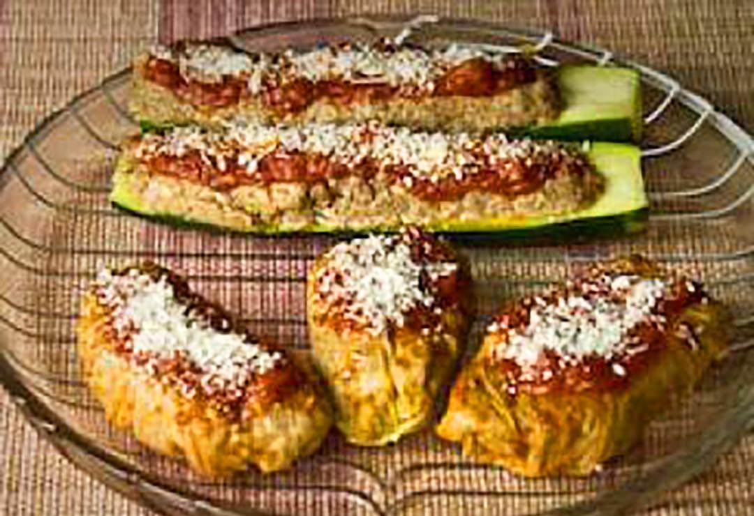 Little cabbage 'suitcases' (Valigini)