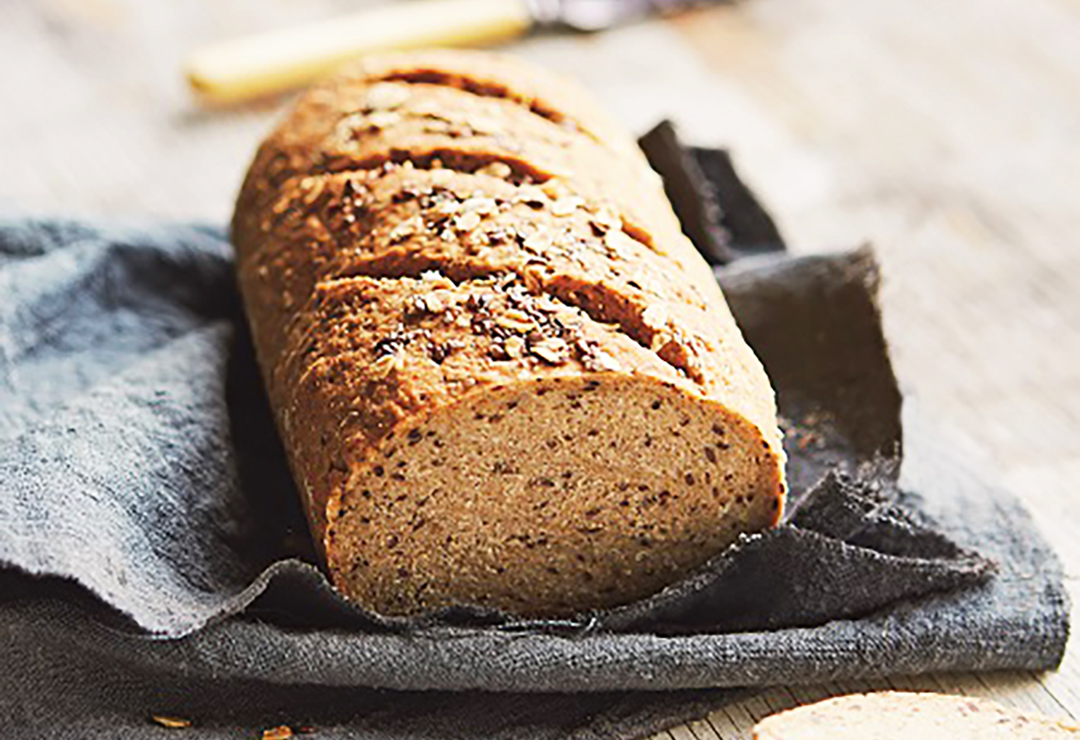 Rye and caraway bread