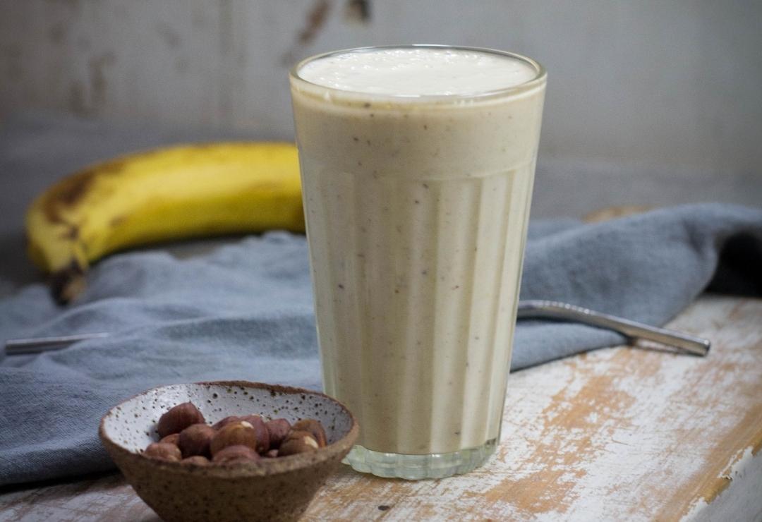 Banana-Hazelnut Smoothie