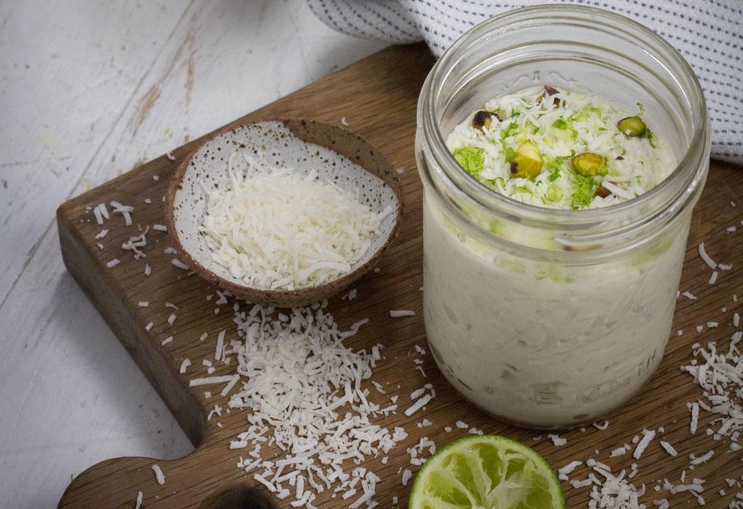 Coconut & Lime Quinoa Bircher