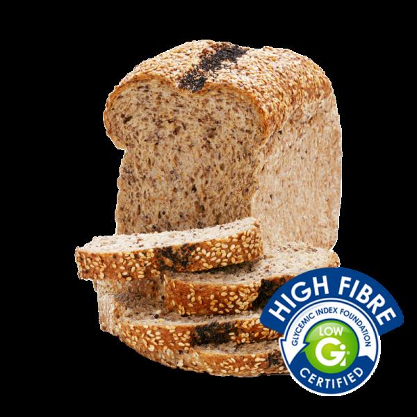 Coles Bakery High Fibre Low GI 7 Seeds & Grains Loaf 400g
