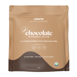 USANA Nutrimeal Active Chocolate Soy Protein Shake