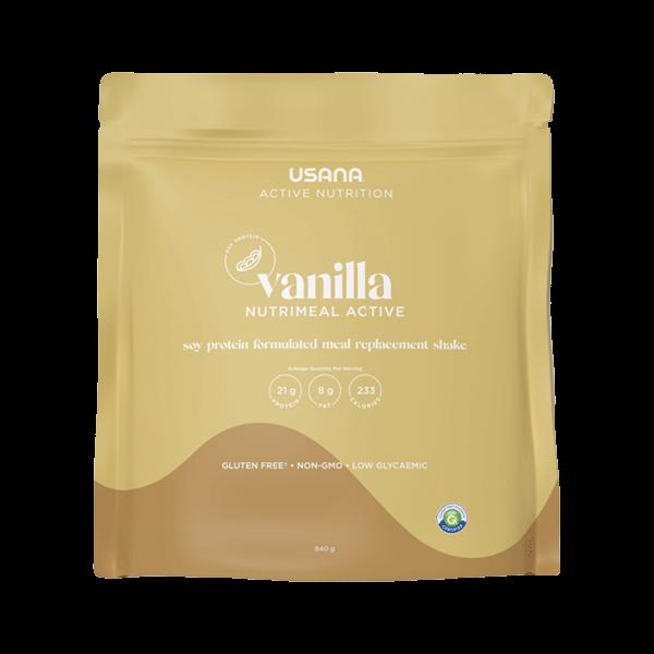 USANA Nutrimeal Active Vanilla Soy Protein Shake