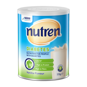 NUTREN Diabetes Vanilla flavour 770g can