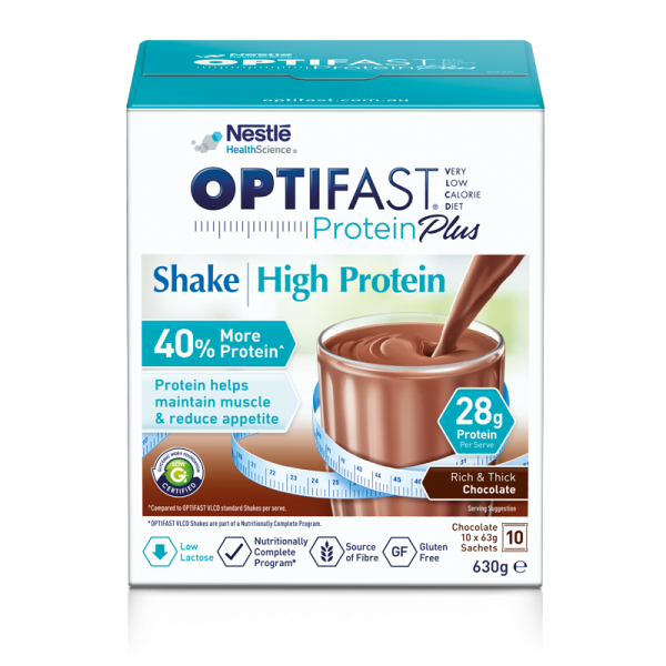 OPTIFAST VLCD Protein Plus Chocolate Shake