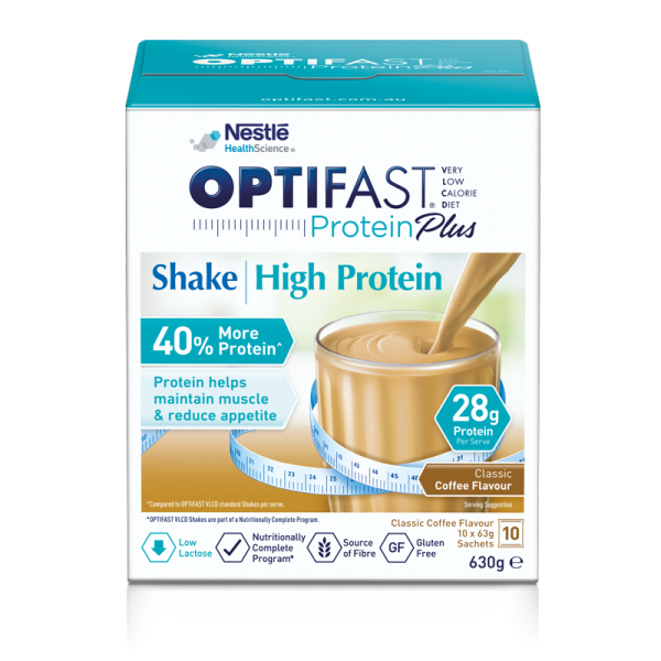 OPTIFAST VLCD Protein Plus Coffee Shake